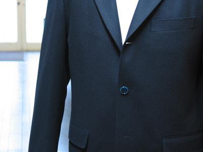 フラノ紺ブレジャケット