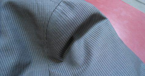 袖のいせ込みに注目したい夏のコットンジャケット