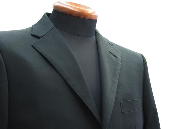 黒のコットンジャケット
