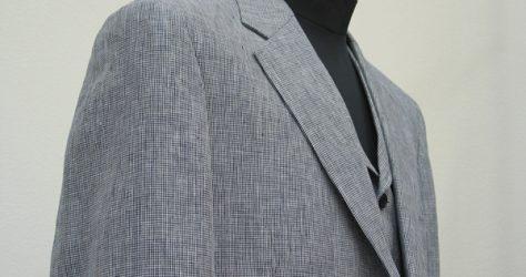 リネン・アメリカントラディショナルモデルのスーツ