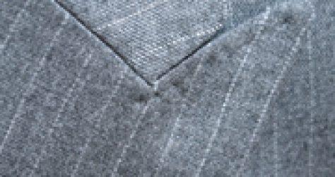 スーツのステッチ